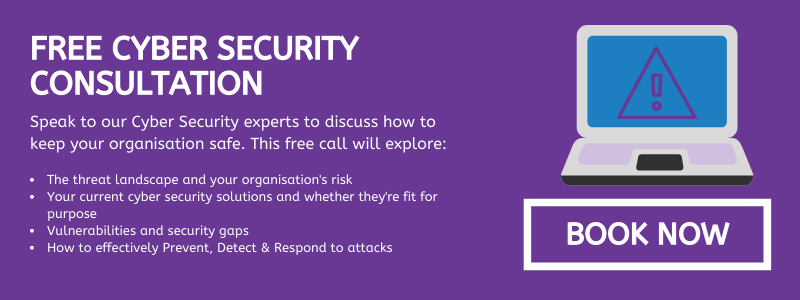 Free cyber security consultation
