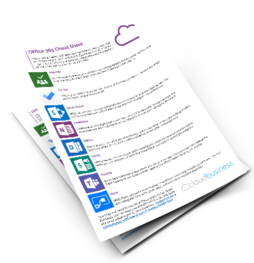 office 365 apps tips sheet
