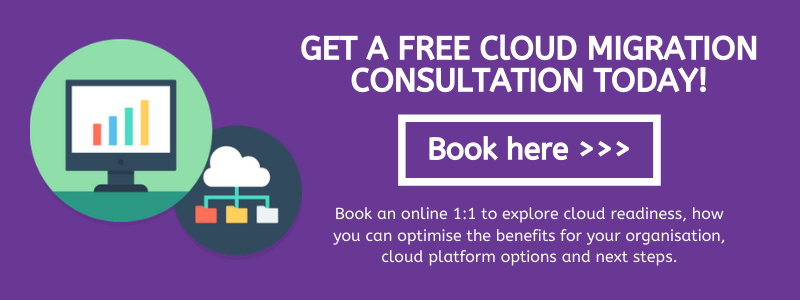 Cloud migration consultation CTA